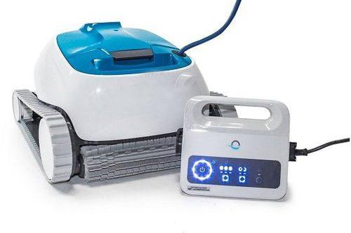 robot nettoyeur avec bloc alimentation électrique statique