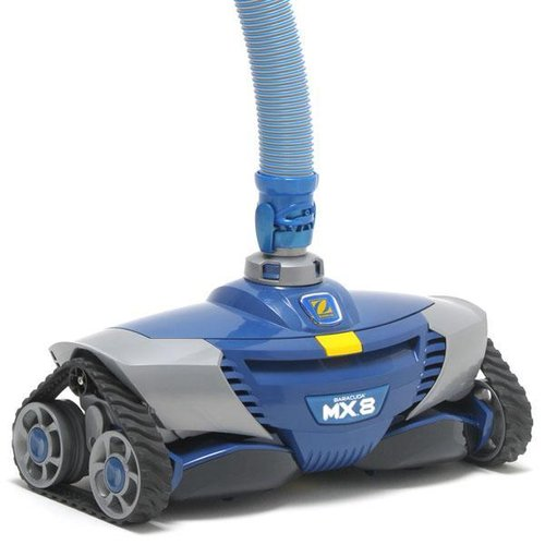 robot hydraulique zodiac bleu statique