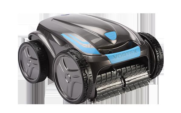 robot électrique zodiac gris et bleu statique