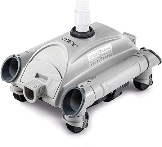 robot piscine hydraulique intex gris