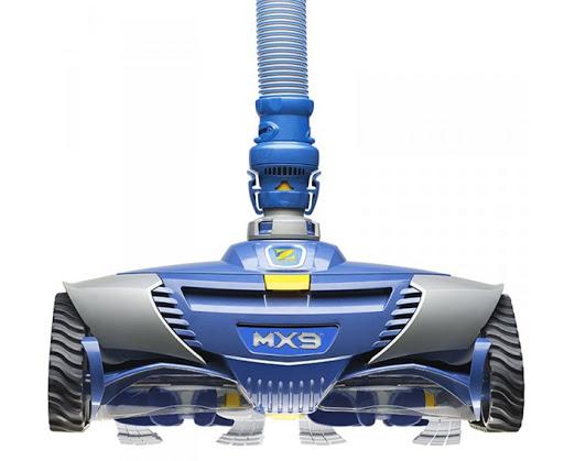 Robot piscine a aspiration bleu zodiac mx9