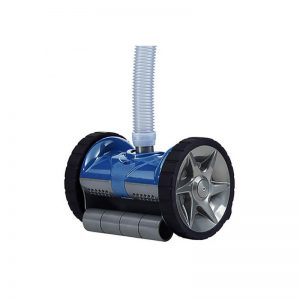 robot piscine à aspiration pentair bleu statique
